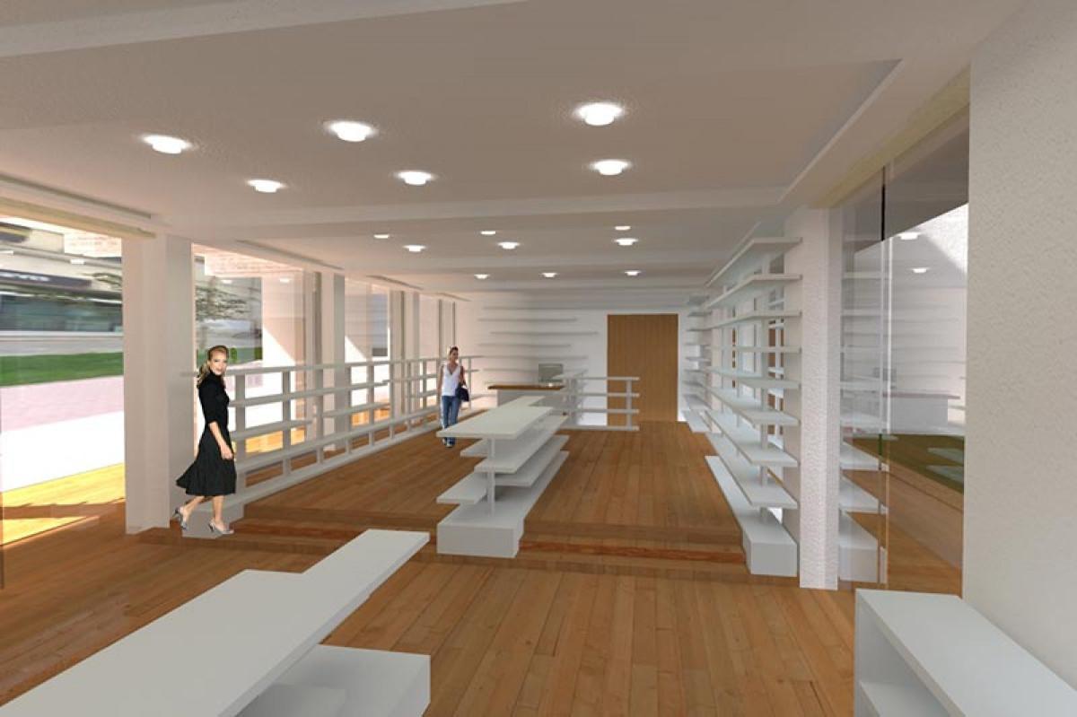 Realizzazione della nuova boutique Bonvicini Superstore Montecatini Terme