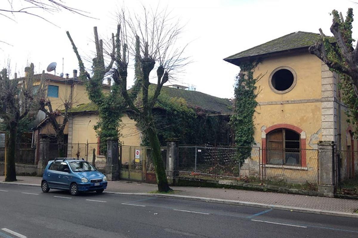 Messa in sicurezza dell'ex-Imbottigliamento Montecatini Terme