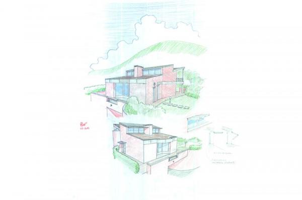 Ristrutturazione con rialzamento di una villa nel Comune di Uzzano