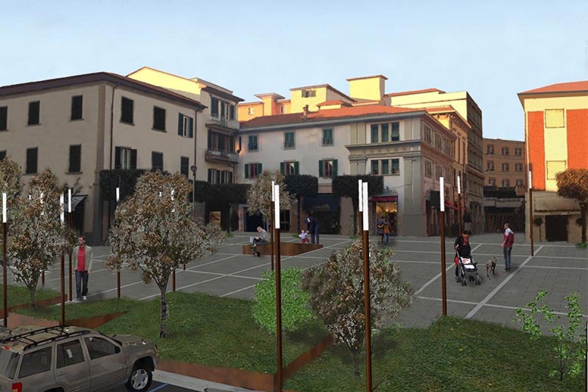 Realizzazione del progetto Evoluzione Urbana per l'associazione Amici di Montecatini